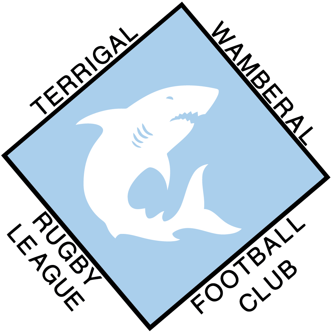 TERRIGAL SHARKS RLFC LOGO